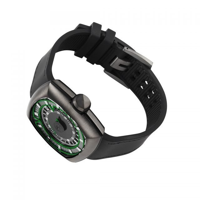 Inception V1.0  Gunmetal/Green