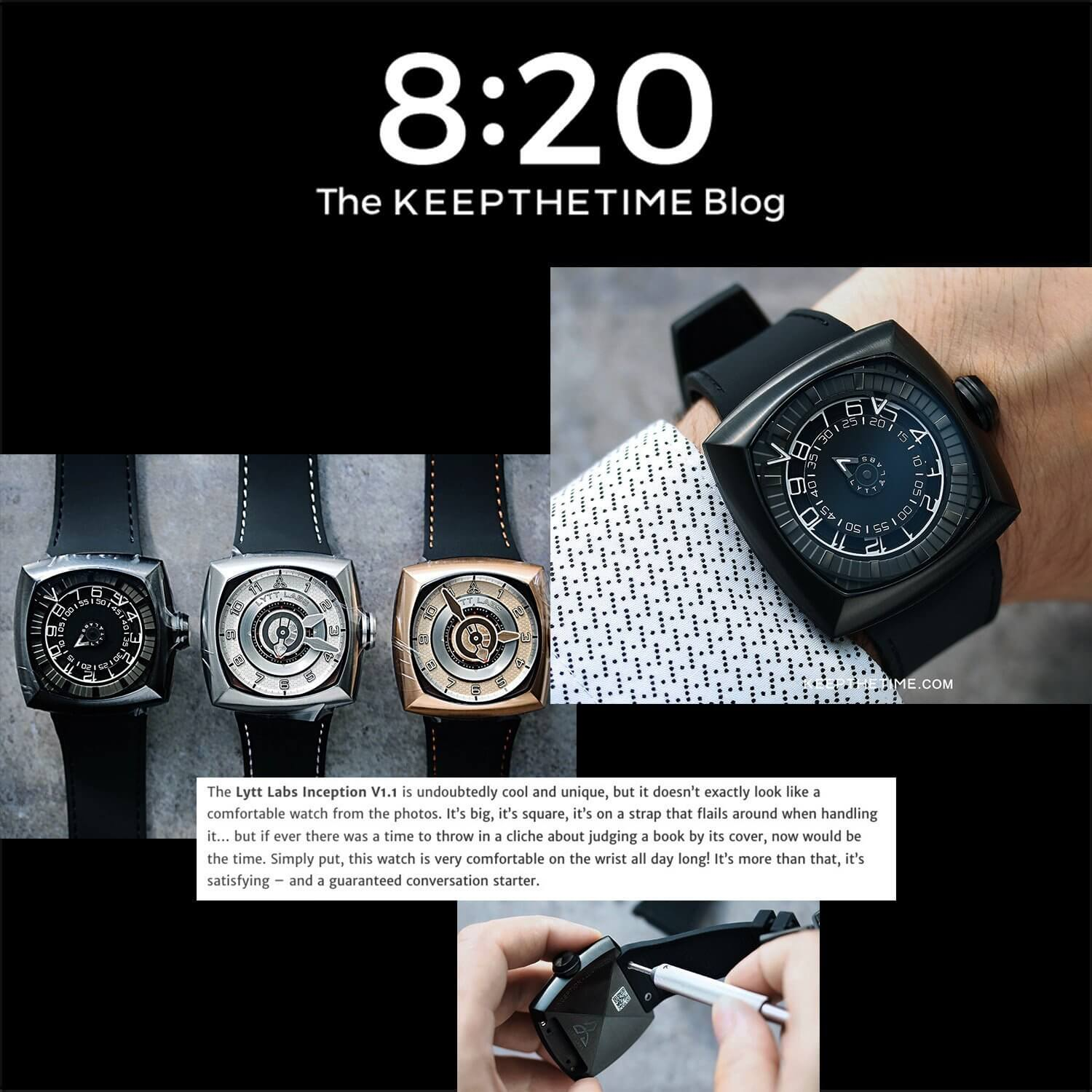 A Totem For Your Wrist <br> by KEEPTHETIME Blog